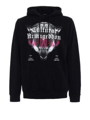 Marcelo Burlon: Sweatshirts & Sweaters - Huapi printed hoodie