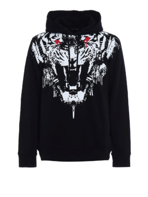 Marcelo Burlon: Sweatshirts & Sweaters - Jung cotton jersey hoodie