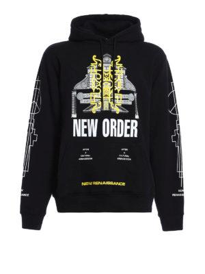 Marcelo Burlon: Sweatshirts & Sweaters - Lican printed hoodie