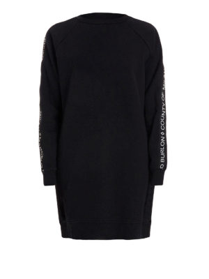 Marcelo Burlon: Sweatshirts & Sweaters - Newen cotton long sweatshirt