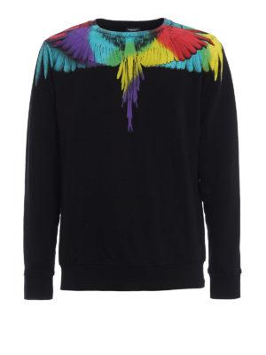 Marcelo Burlon: Sweatshirts & Sweaters - Nicolas cotton sweatshirt