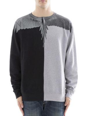 Marcelo Burlon: Sweatshirts & Sweaters online - Asher colour block sweatshirt