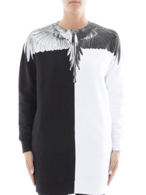 Marcelo Burlon: Sweatshirts & Sweaters online - Cuncos colour block sweatshirt