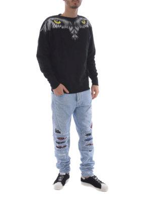 Marcelo Burlon: Sweatshirts & Sweaters online - Eye Wings sweatshirt