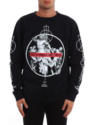 Marcelo Burlon: Sweatshirts & Sweaters online - Fainu printed sweatshirt