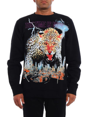 Marcelo Burlon: Sweatshirts & Sweaters online - Hor printed sweatshirt