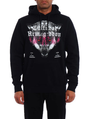 Marcelo Burlon: Sweatshirts & Sweaters online - Huapi printed hoodie
