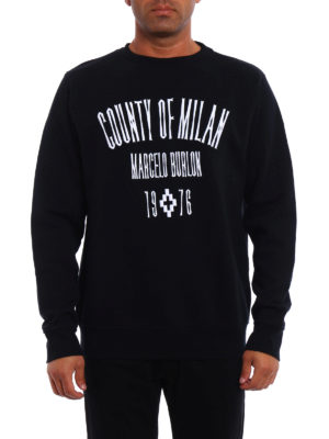 Marcelo Burlon: Sweatshirts & Sweaters online - Jak embroidered sweatshirt