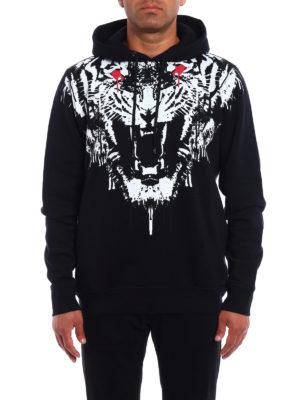 Marcelo Burlon: Sweatshirts & Sweaters online - Jung cotton jersey hoodie