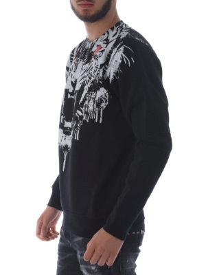 Marcelo Burlon: Sweatshirts & Sweaters online - Jung panther print sweatshirt