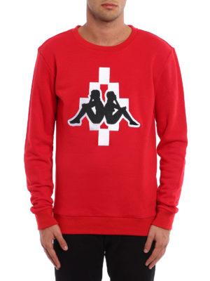 Marcelo Burlon: Sweatshirts & Sweaters online - Kappa sweatshirt