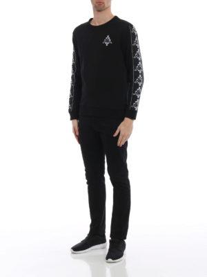 Marcelo Burlon: Sweatshirts & Sweaters online - Kappa Tape jersey sweatshirt