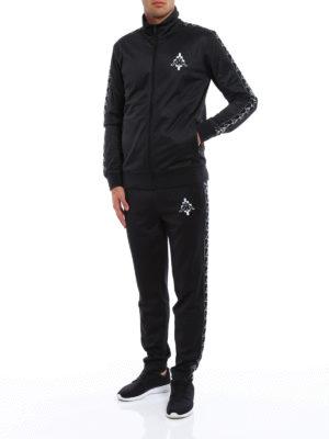 Marcelo Burlon: Sweatshirts & Sweaters online - Kappa zipped sweatshirt