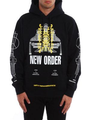 Marcelo Burlon: Sweatshirts & Sweaters online - Lican printed hoodie