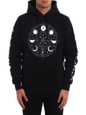 Marcelo Burlon: Sweatshirts & Sweaters online - Menel printed hoodie