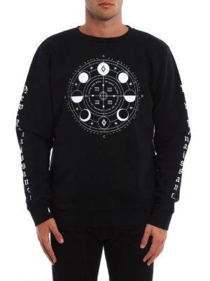 Marcelo Burlon: Sweatshirts & Sweaters online - Menel printed sweatshirt