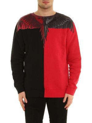 Marcelo Burlon: Sweatshirts & Sweaters online - Paz Crew printed cotton sweatshirt