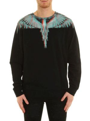 Marcelo Burlon: Sweatshirts & Sweaters online - Salvador Crew sweatshirt