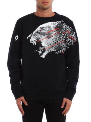Marcelo Burlon: Sweatshirts & Sweaters online - Sham panther print sweatshirt