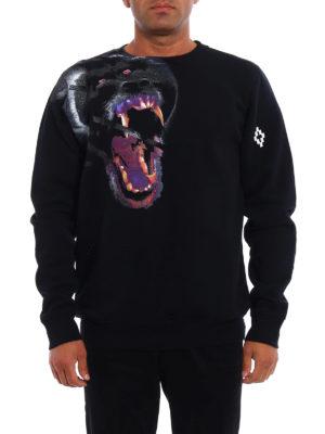 Marcelo Burlon: Sweatshirts & Sweaters online - Teukenk oversize sweatshirt