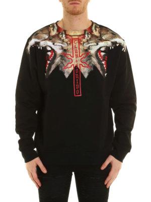 Marcelo Burlon: Sweatshirts & Sweaters online - Victor Crew sweatshirt