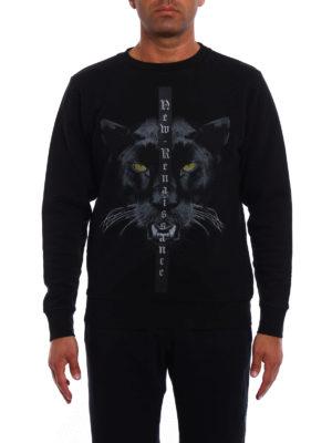 Marcelo Burlon: Sweatshirts & Sweaters online - Yune cotton jersey sweatshirt