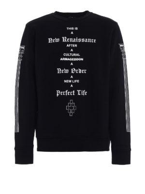 Marcelo Burlon: Sweatshirts & Sweaters - Piuke crew neck sweatshirt