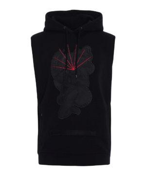 Marcelo Burlon: Sweatshirts & Sweaters - Rayen sleeveless hoodie