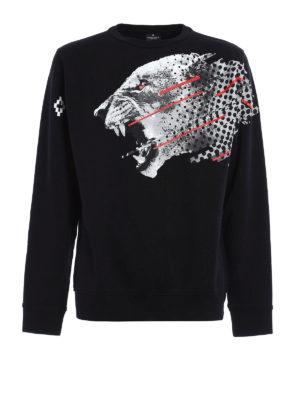 Marcelo Burlon: Sweatshirts & Sweaters - Sham panther print sweatshirt
