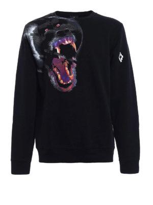 Marcelo Burlon: Sweatshirts & Sweaters - Teukenk oversize sweatshirt