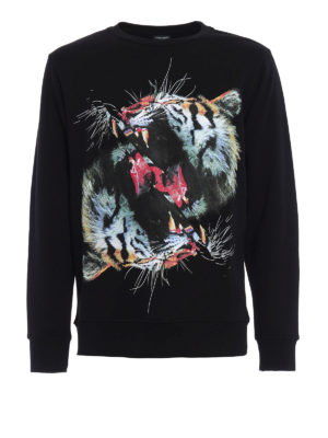 Marcelo Burlon: Sweatshirts & Sweaters - Vicente cotton sweatshirt