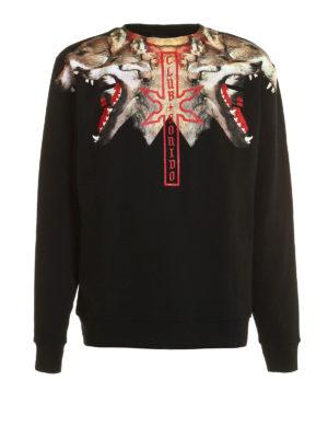 Marcelo Burlon: Sweatshirts & Sweaters - Victor Crew sweatshirt