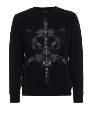 Marcelo Burlon: Sweatshirts & Sweaters - Yune cotton jersey sweatshirt