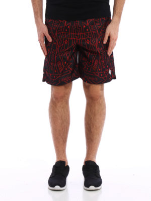 Marcelo Burlon: Swim shorts & swimming trunks online - Elvio boardshorts