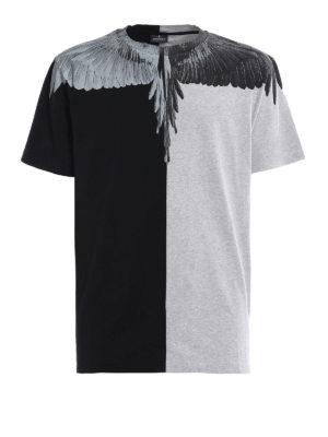 Marcelo Burlon: t-shirts - Asher colour block T-shirt
