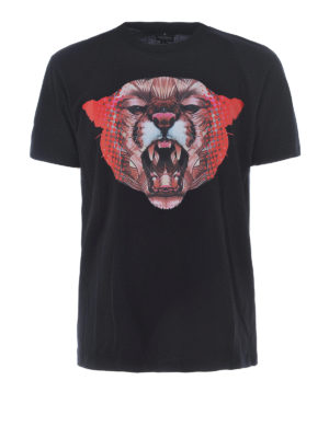 Marcelo Burlon: t-shirts - Ashkish printed cotton Tee