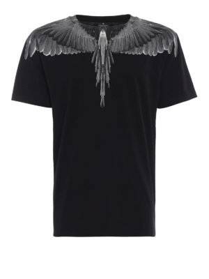Marcelo Burlon: t-shirt - T-shirt Black Wings