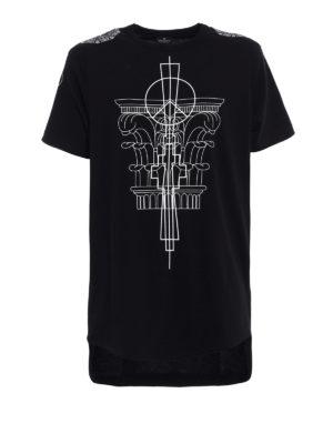 Marcelo Burlon: t-shirts - Calfu oversize T-shirt