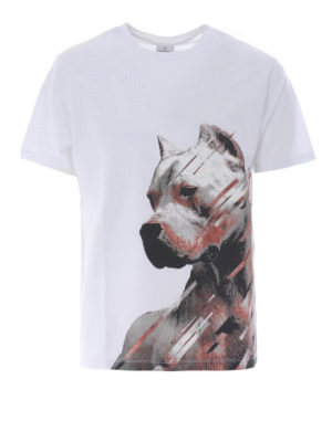 Marcelo Burlon: t-shirts - Dog white T-shirt