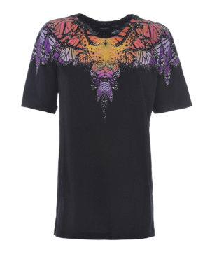 Marcelo Burlon: t-shirts - Filipa printed yoke T-shirt