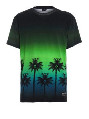 Marcelo Burlon: t-shirts - Gothic Surfer printed T-shirt