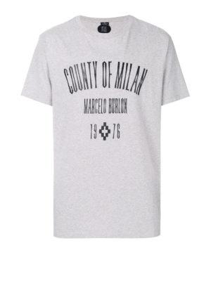 Marcelo Burlon: t-shirts - Jak logo print T-shirt