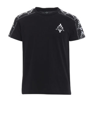 Marcelo Burlon: t-shirts - Kappa Tape T-shirt