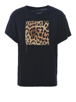 Marcelo Burlon: t-shirt - T-shirt Leopard