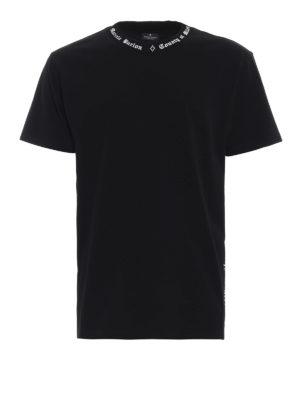 Marcelo Burlon: t-shirt - T-shirt MB nera a manica corta