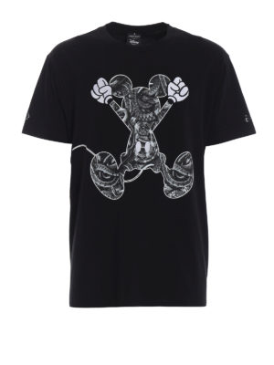 Marcelo Burlon: t-shirts - Mickey Mouse Jump T-shirt