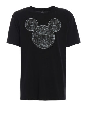 Marcelo Burlon: t-shirts - Mickey Mouse Snakes black T-shirt