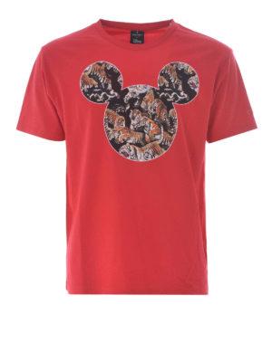 Marcelo Burlon: t-shirts - Mickey Mouse Tigers T-shirt