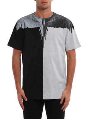 Marcelo Burlon: t-shirts online - Asher colour block T-shirt