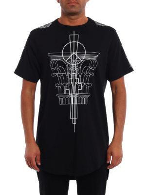 Marcelo Burlon: t-shirts online - Calfu oversize T-shirt